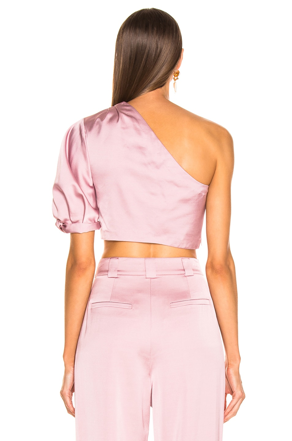 Image 4 of A.L.C. Tomlin Top in Dusty Rose
