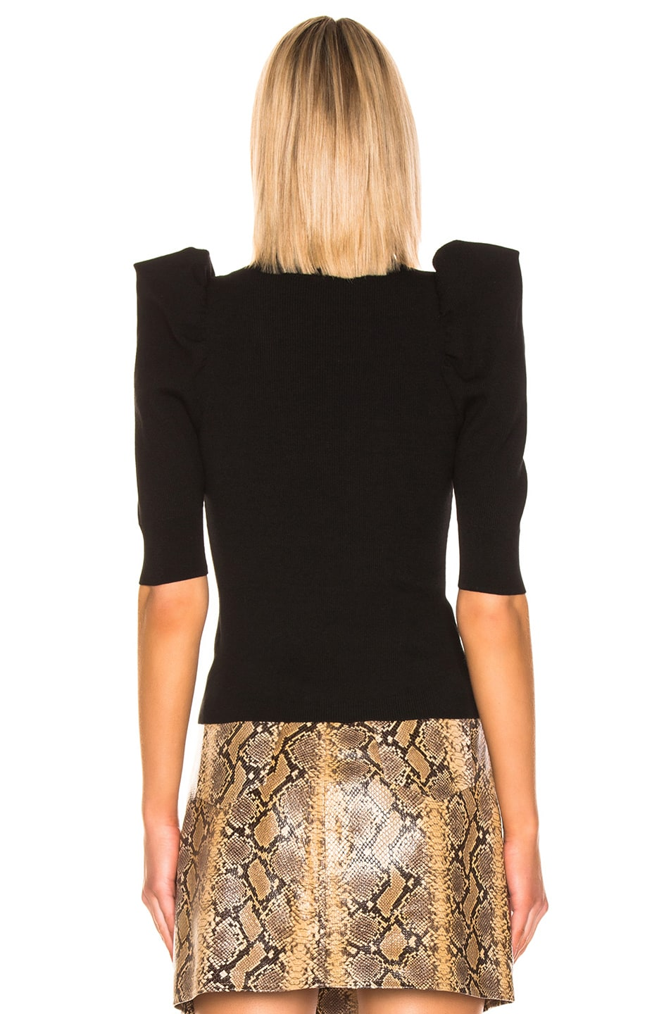 Image 3 of A.L.C. Astor Top in Black