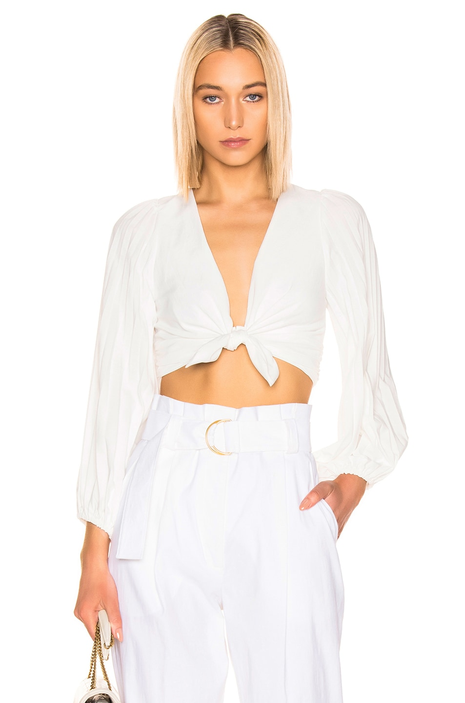 Image 1 of A.L.C. Maxime Top in White