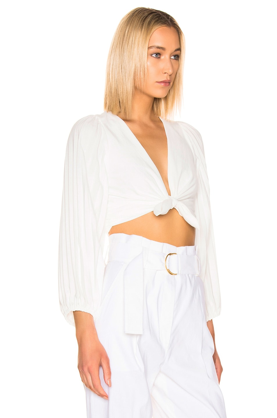Image 2 of A.L.C. Maxime Top in White