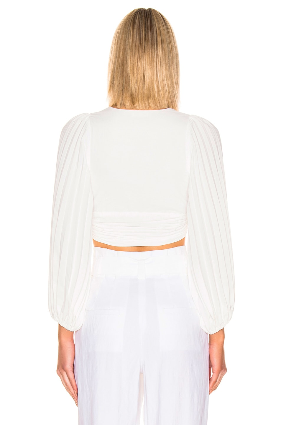 Image 3 of A.L.C. Maxime Top in White