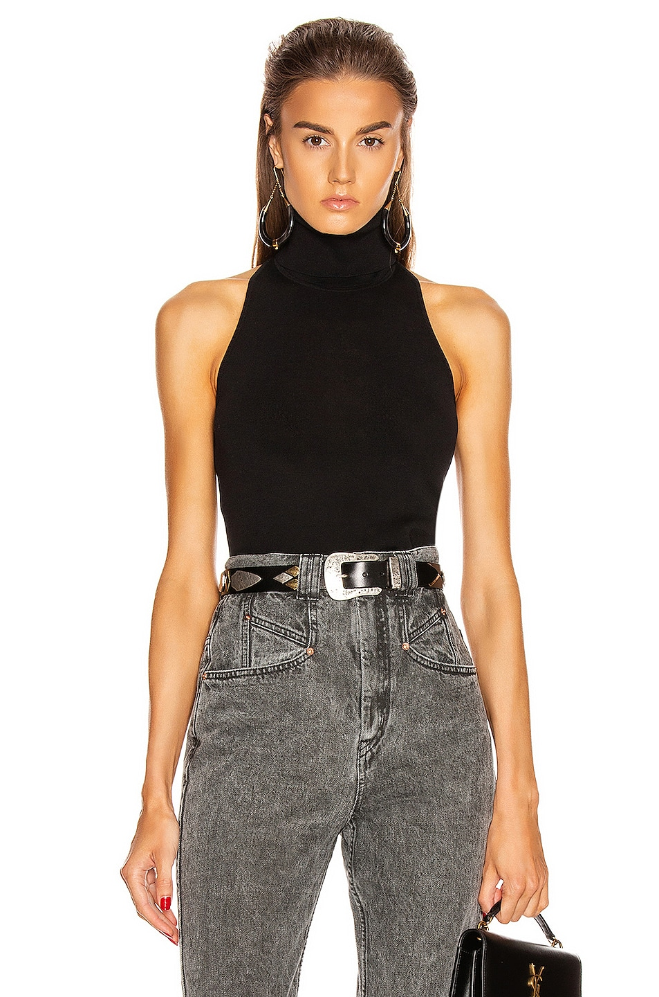 Image 1 of A.L.C. Paltrow Top in Black