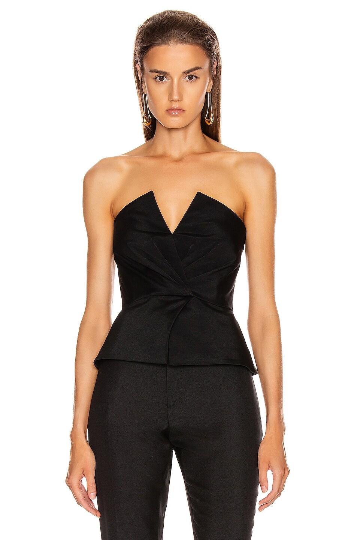 Image 1 of A.L.C. Farrah Top in Black
