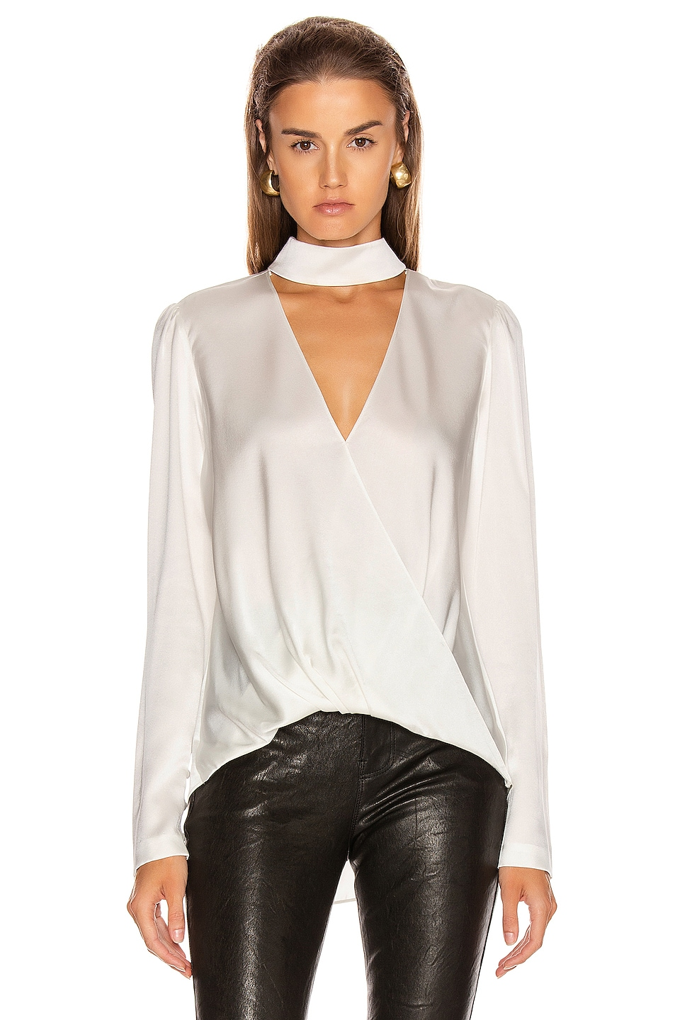 Image 2 of A.L.C. Raquel Top in Pearl