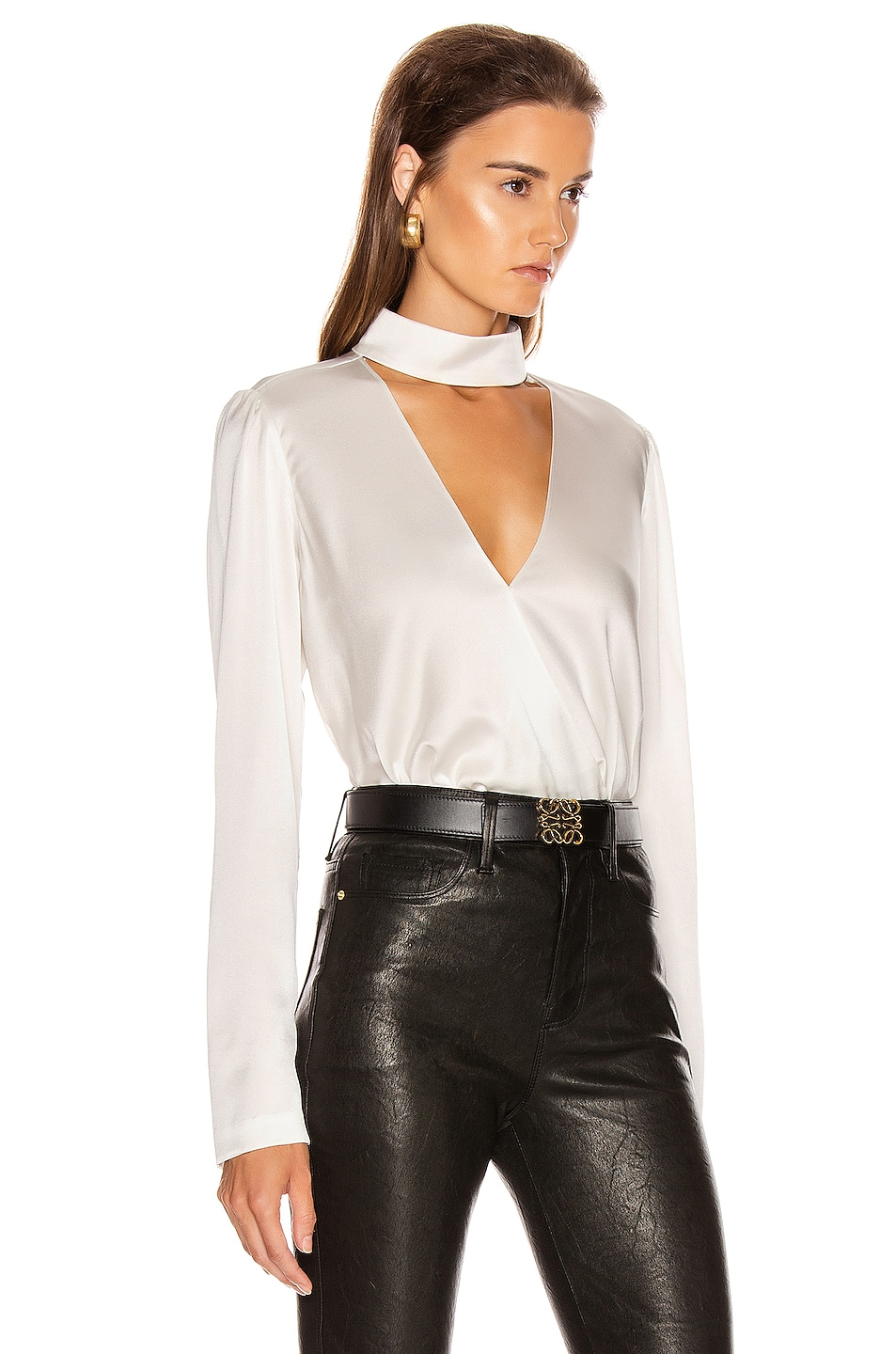 Image 3 of A.L.C. Raquel Top in Pearl