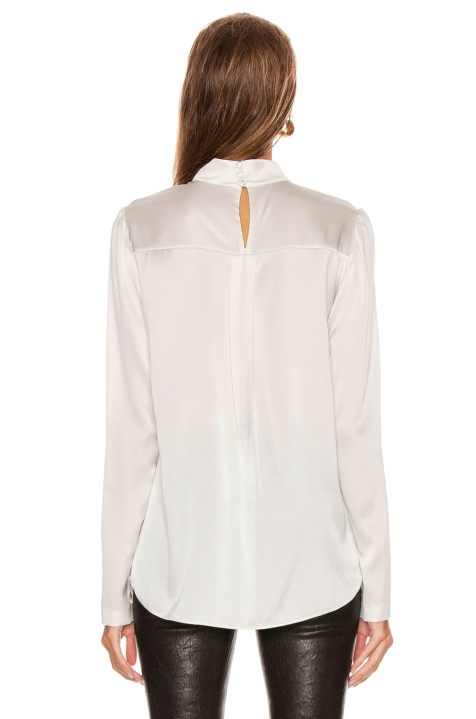 Image 4 of A.L.C. Raquel Top in Pearl