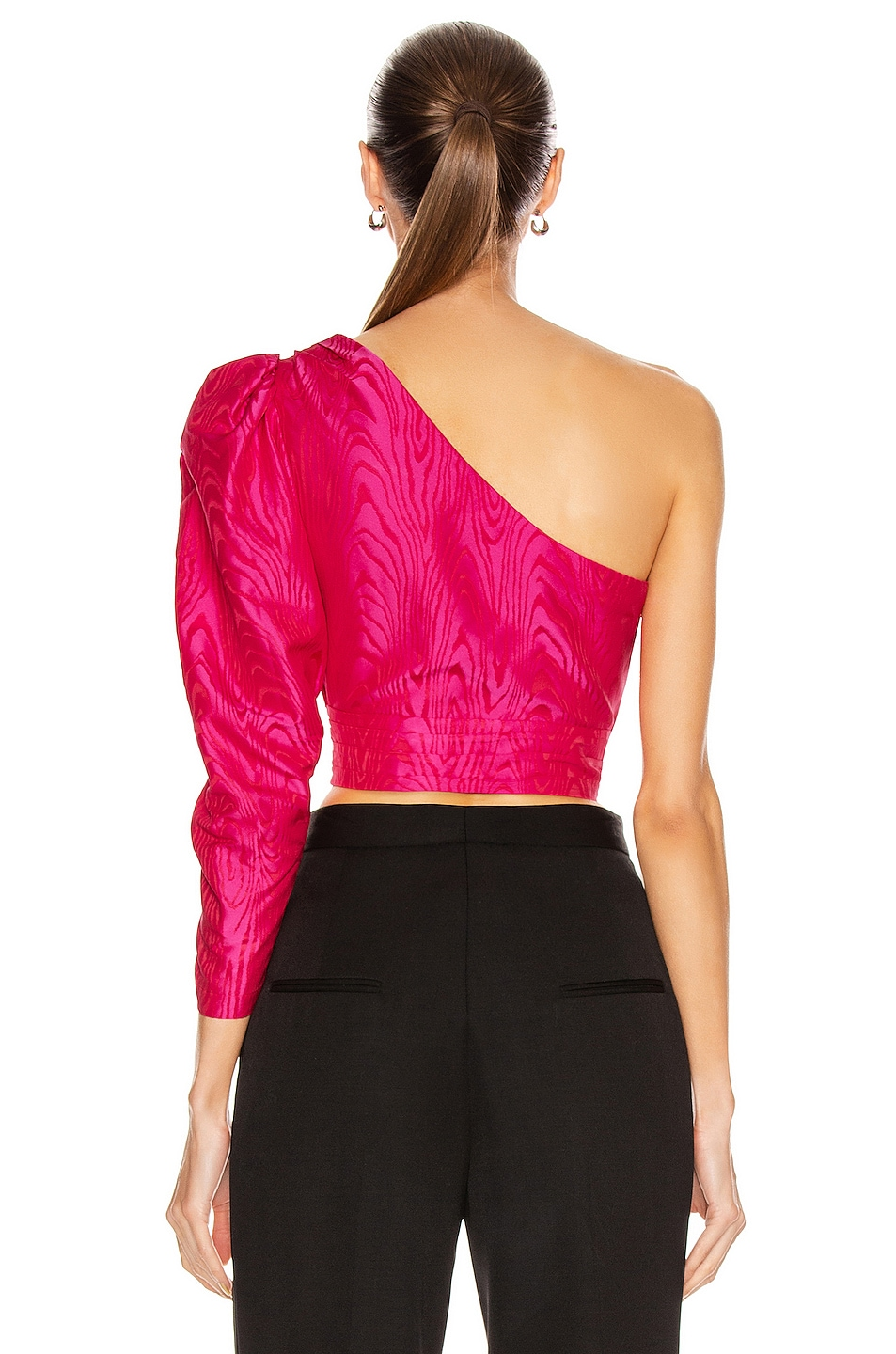 Image 4 of A.L.C. for FWRD Lizzy Top in Bright Berry