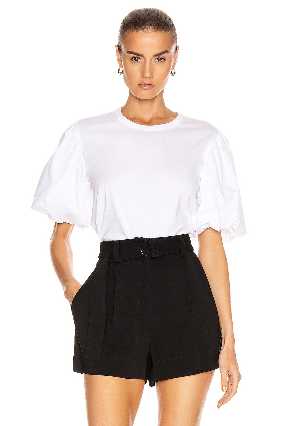 Image 1 of A.L.C. Cassandra Top in White