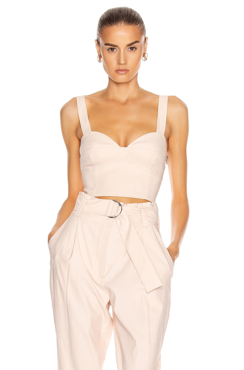 Image 1 of A.L.C. Alessandra Top in Buttercup
