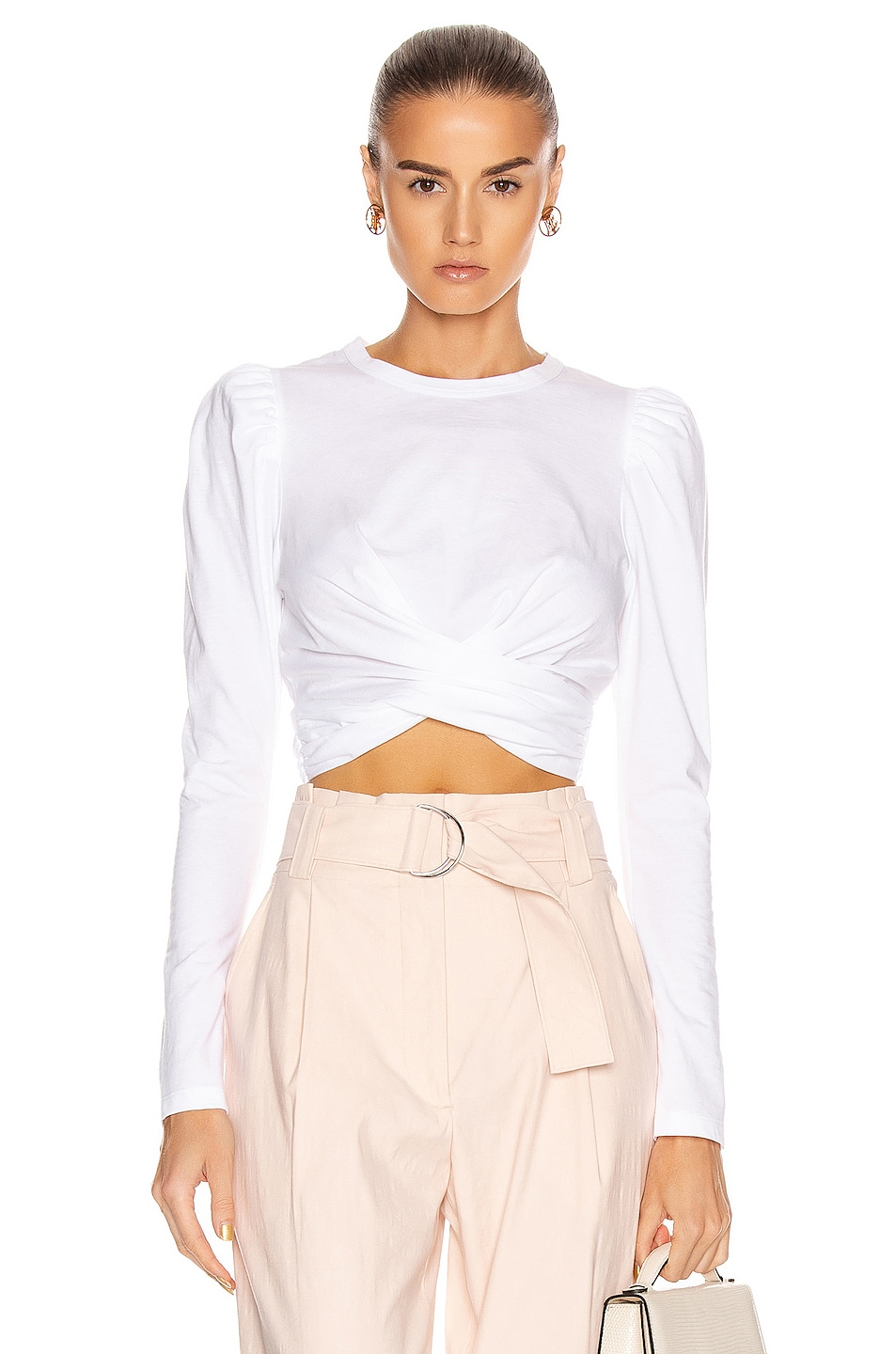 Image 1 of A.L.C. Mandy Tee in White