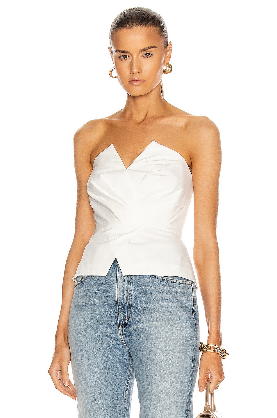 Image 1 of A.L.C. Farrah Top in White