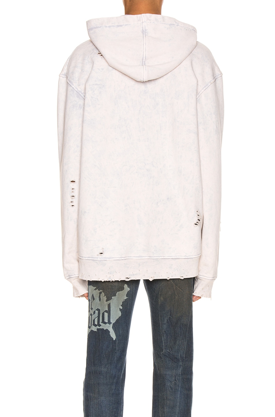 Image 3 of Alchemist x Guess Hoodie in Dirty Cream