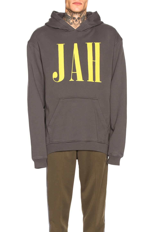 Image 1 of Alchemist Jah Hoodie in Black & Yellow