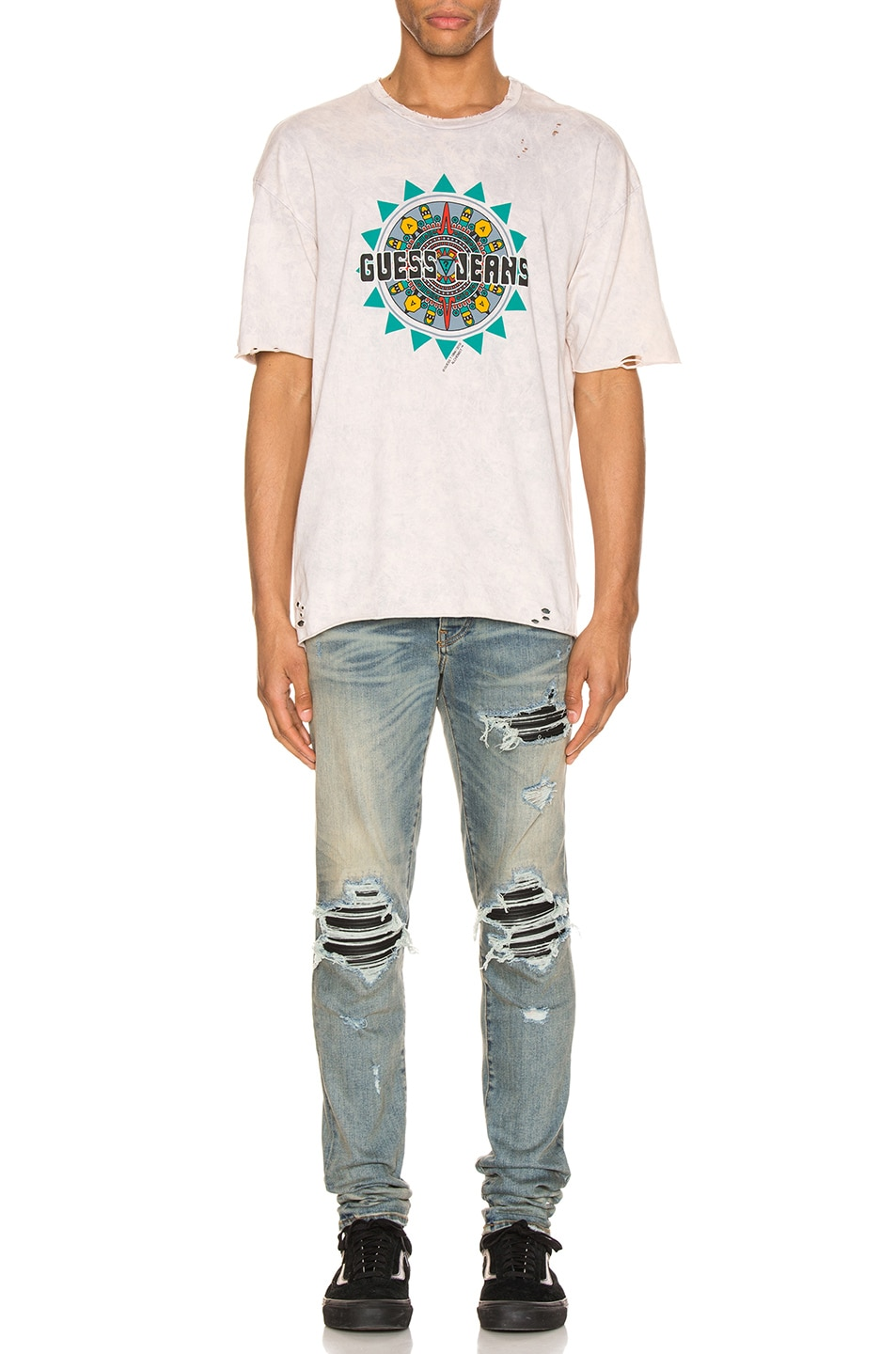 Image 4 of Alchemist x Guess Tee in Dirty Cream