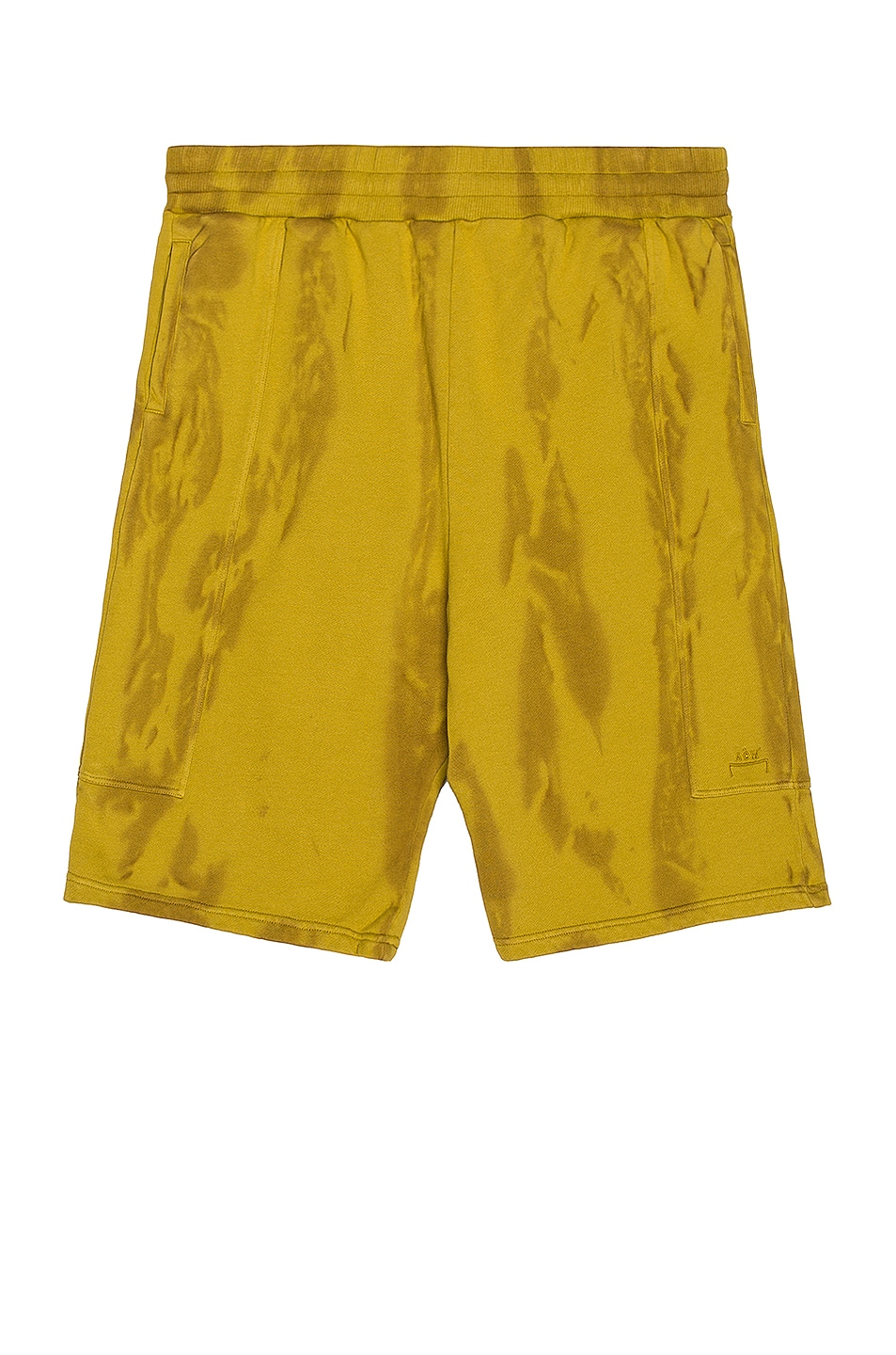 Image 1 of A-COLD-WALL* Overdyed Artisan Shorts in Chartreuse