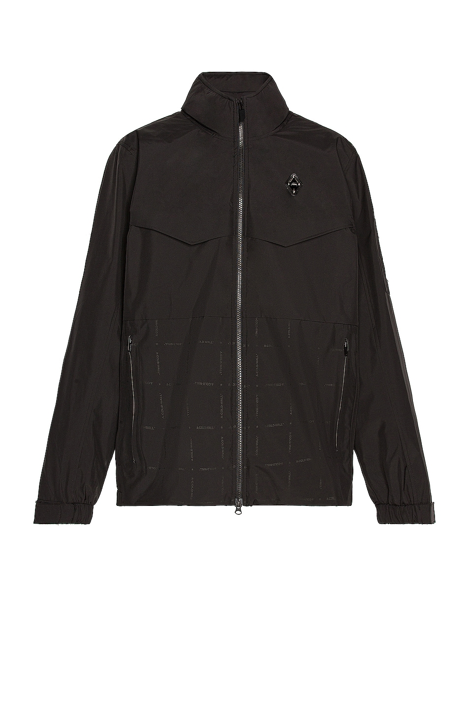 Image 1 of A-COLD-WALL* Rhombus Storm Jacket in Black