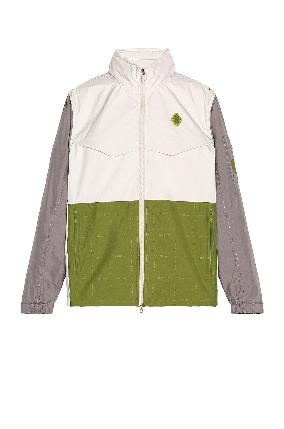 Image 1 of A-COLD-WALL* Rhombus Storm Jacket in Bone