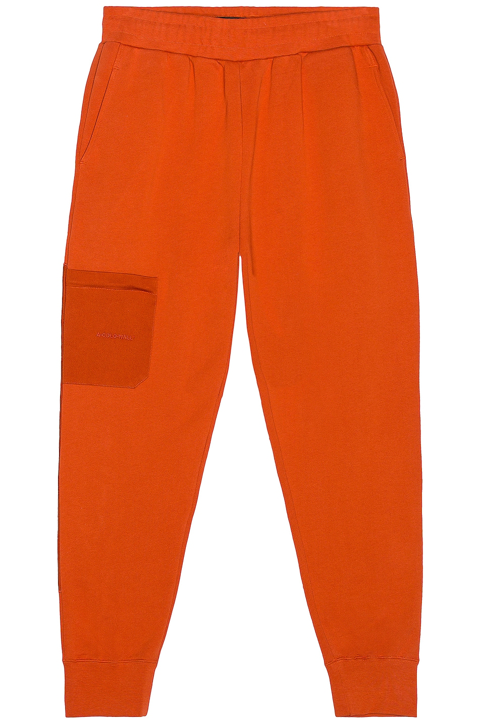 Image 1 of A-COLD-WALL* Logo Embroidery Sweatpant in Rust Oxide