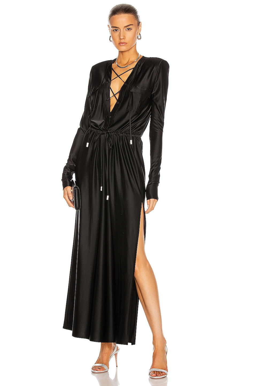 Image 1 of Alexandre Vauthier Safari Dress in Black