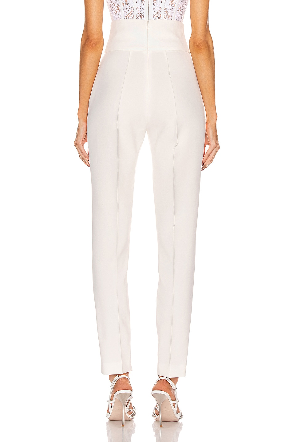 Image 3 of Alexandre Vauthier Compact Pant in Off White