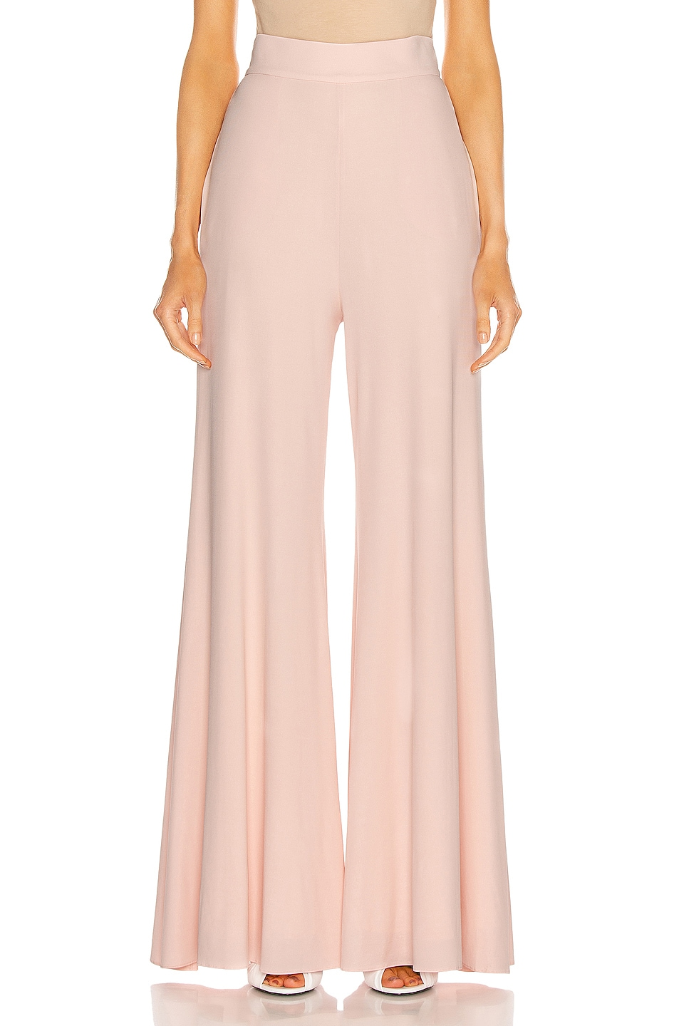 Image 1 of Alexandre Vauthier Wide Leg Pant in Shell