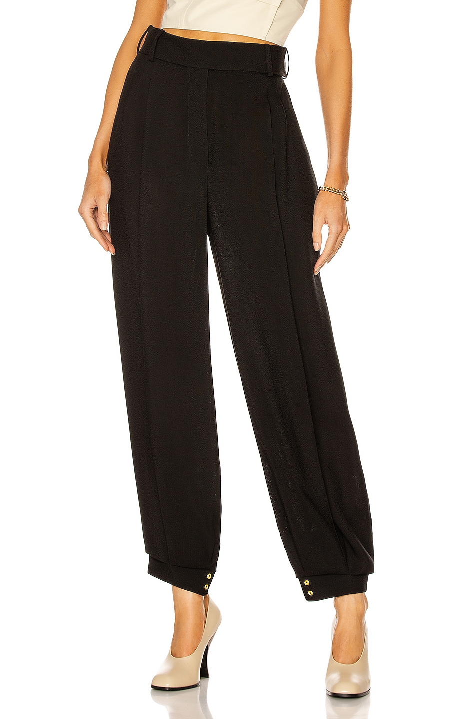 Image 1 of Alexandre Vauthier Bloomer Pant in Black