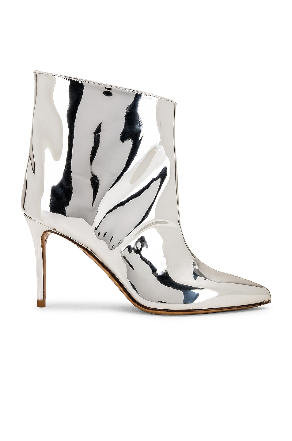Image 1 of Alexandre Vauthier Alex Low Boot in Silver