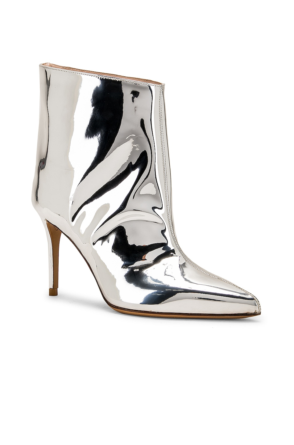 Image 2 of Alexandre Vauthier Alex Low Boot in Silver