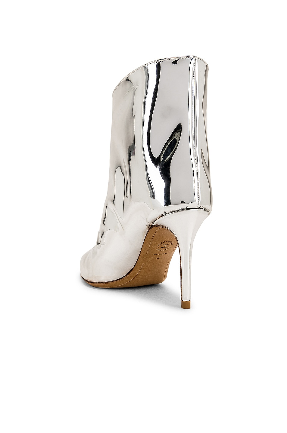 Image 3 of Alexandre Vauthier Alex Low Boot in Silver