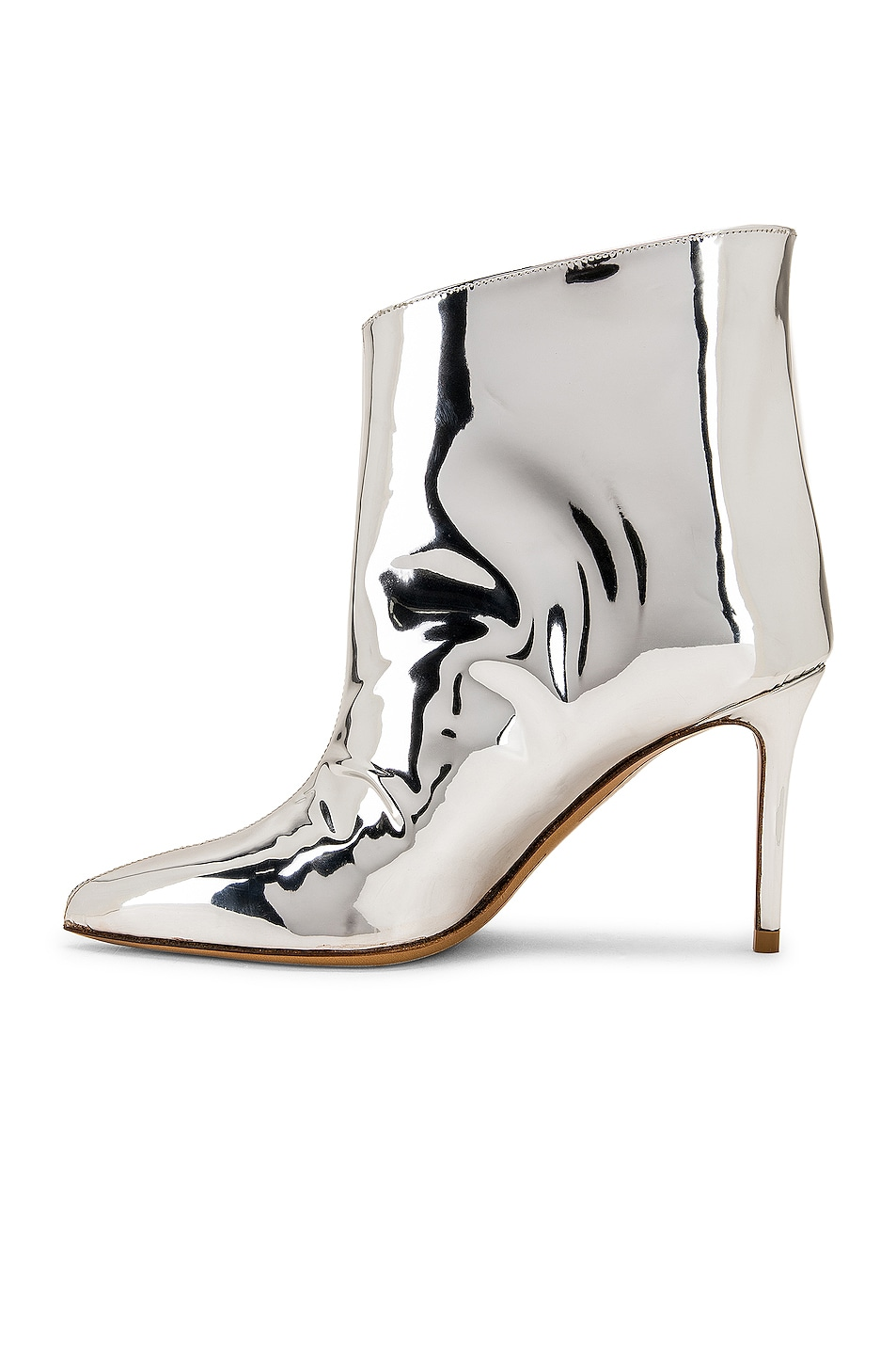 Image 5 of Alexandre Vauthier Alex Low Boot in Silver