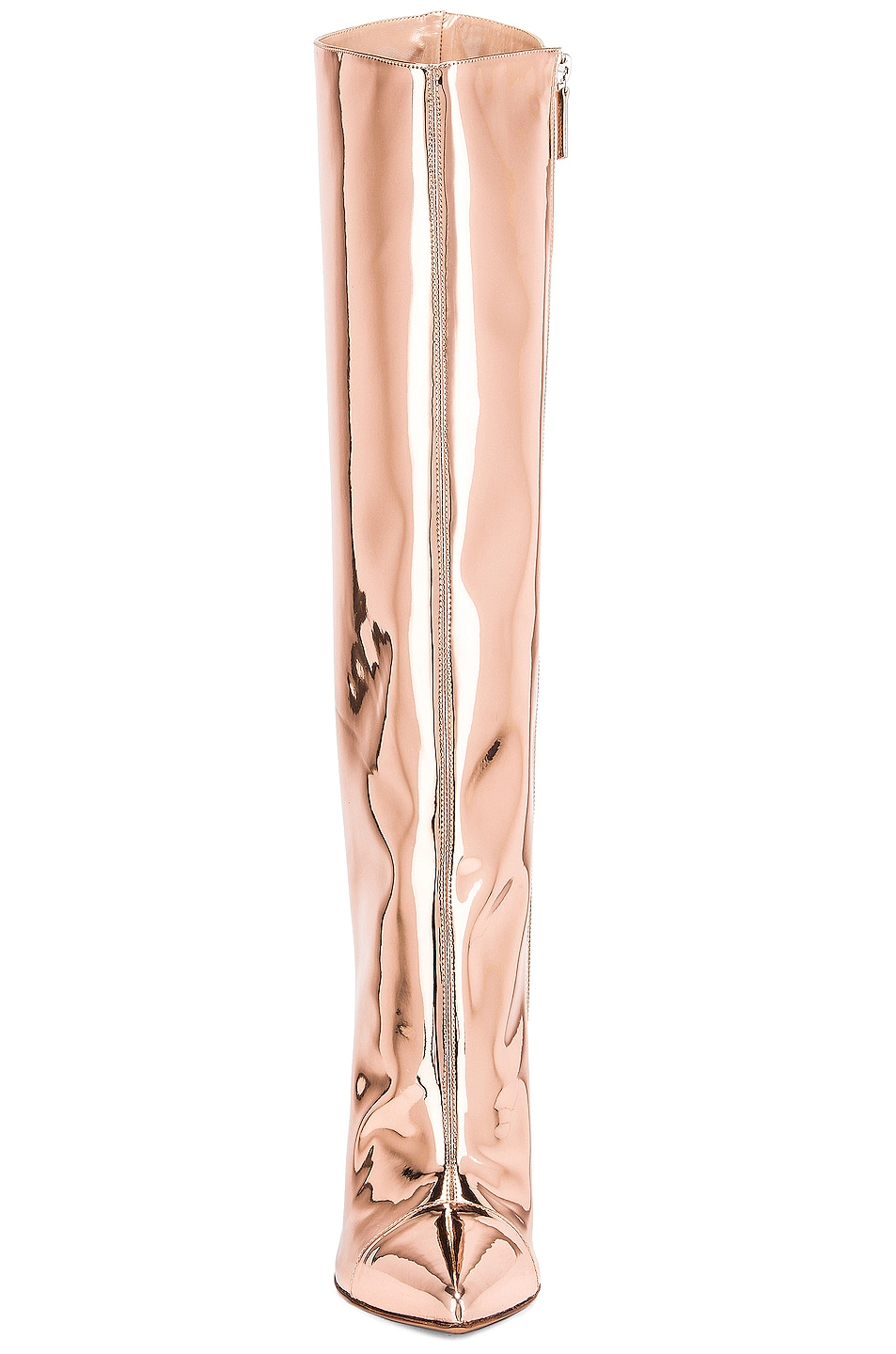 Image 4 of Alexandre Vauthier Alex Boot in Rose Gold