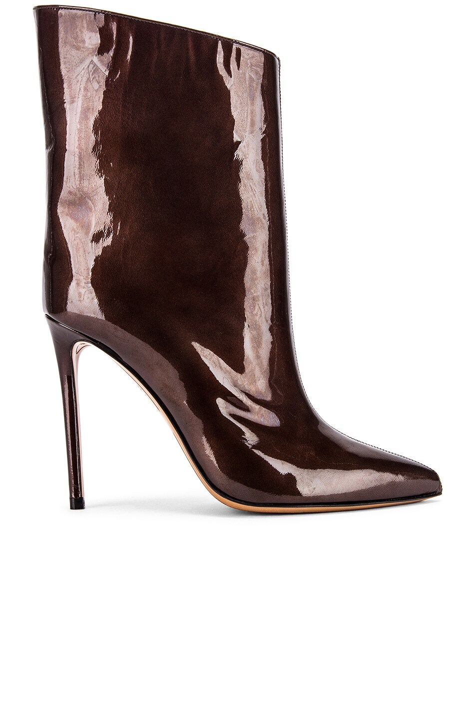 Image 1 of Alexandre Vauthier Alex Low Boot in Chocolate
