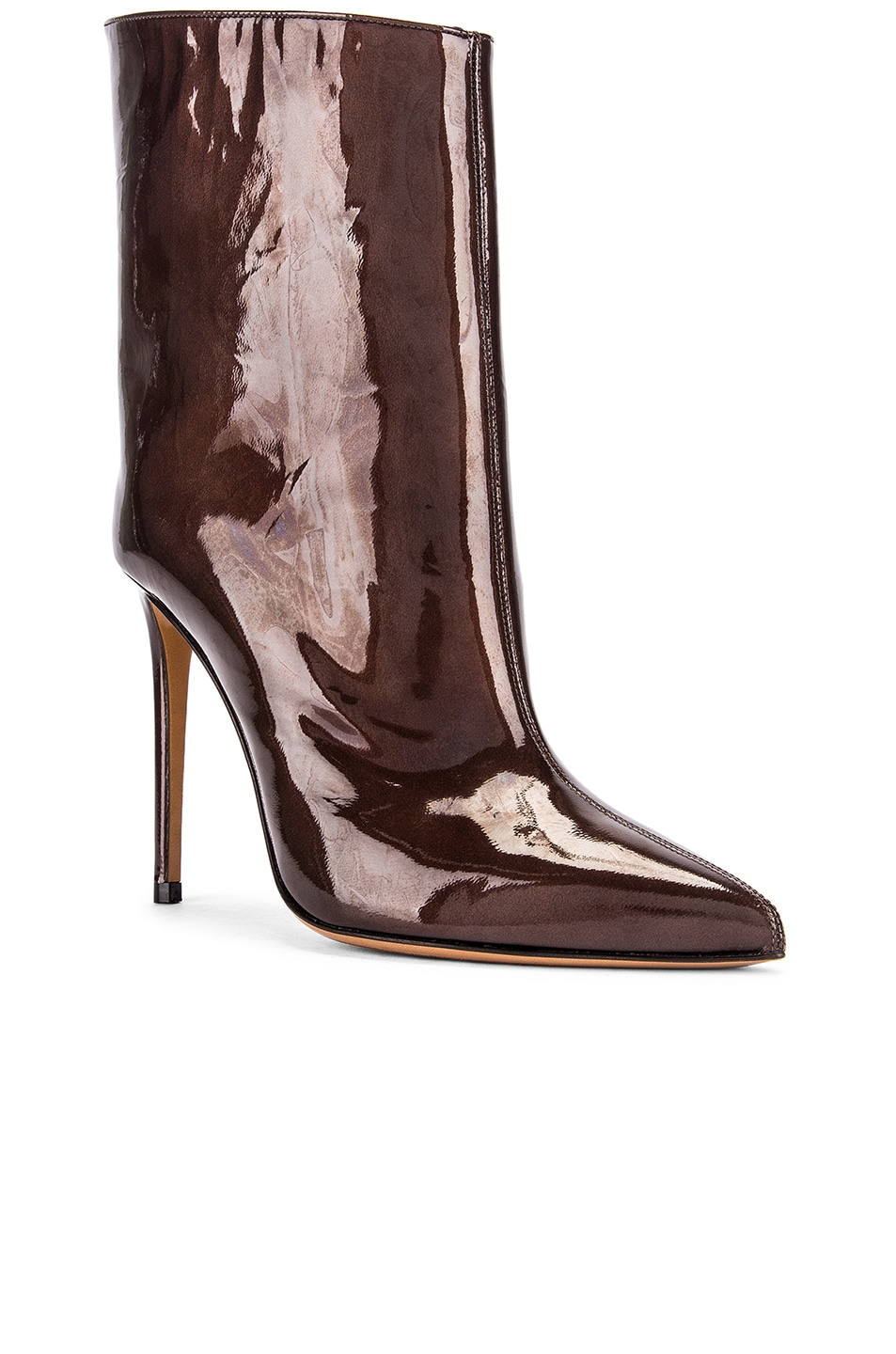 Image 2 of Alexandre Vauthier Alex Low Boot in Chocolate