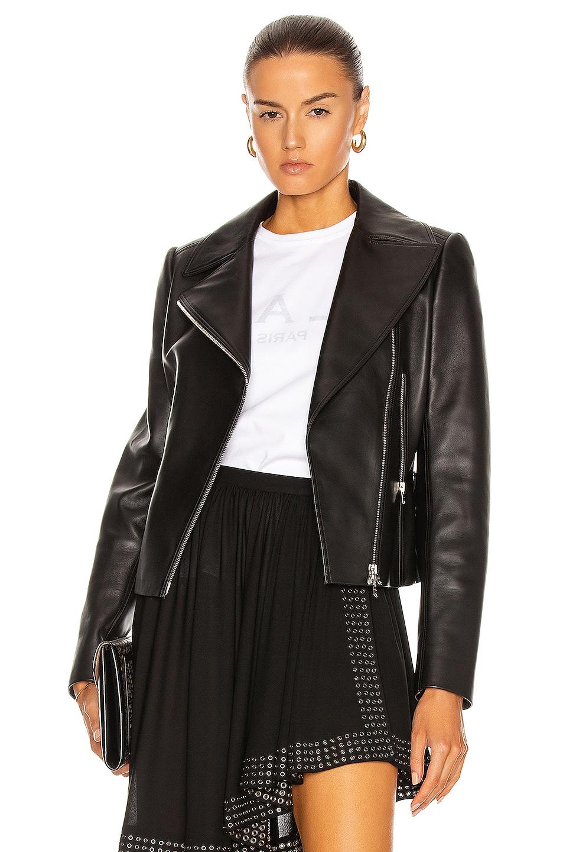 Image 1 of ALAÏA Edition 2003 Leather Biker Jacket in Noir