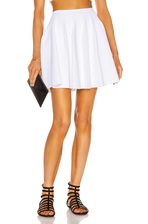 Image 1 of ALAÏA Edition 2013 Mini Skirt in Blanc