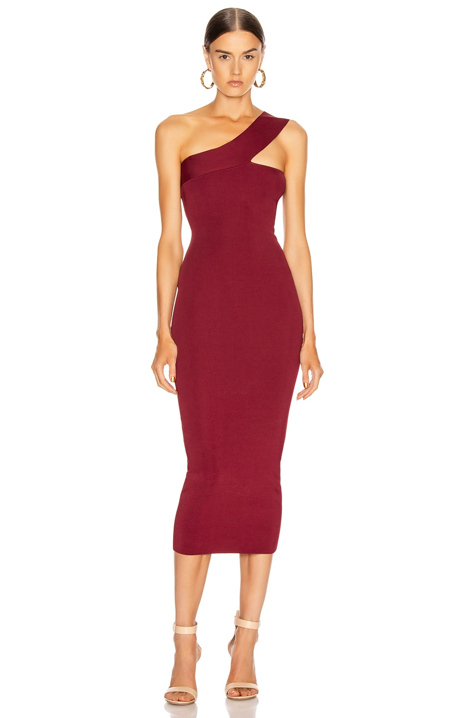 Image 1 of ALIX NYC Hanson Dress in Garnet