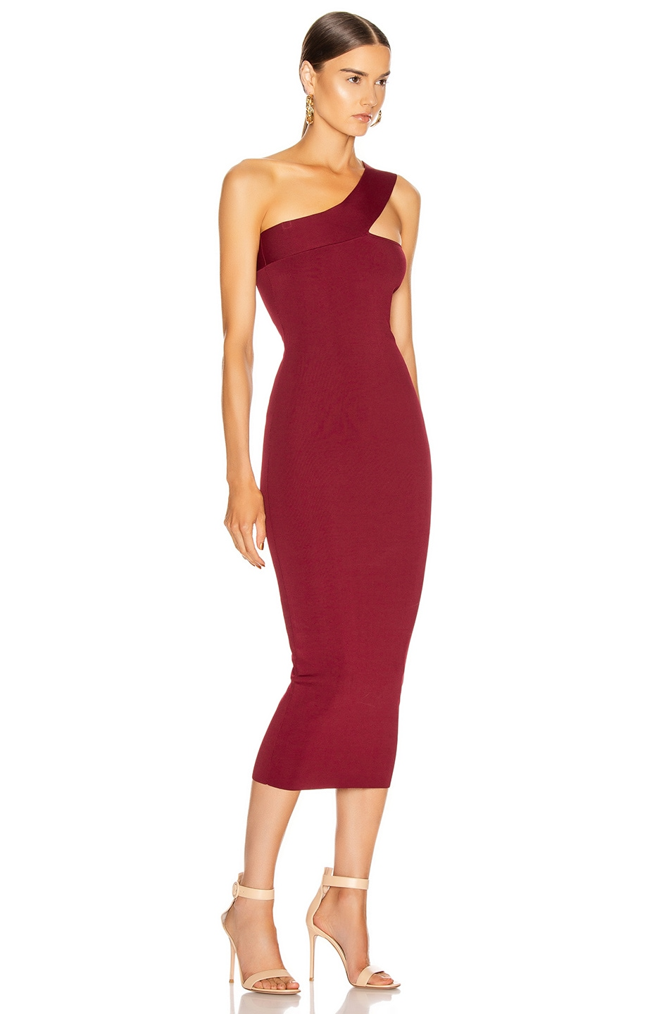 Image 2 of ALIX NYC Hanson Dress in Garnet