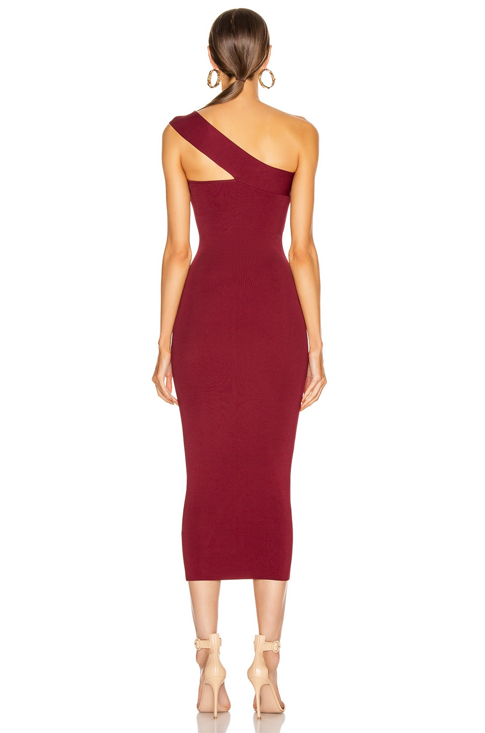 Image 3 of ALIX NYC Hanson Dress in Garnet