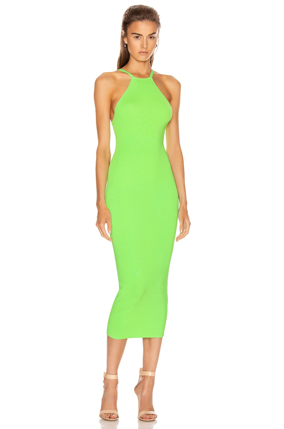 Image 1 of ALIX NYC Jay Dress in Electric Green