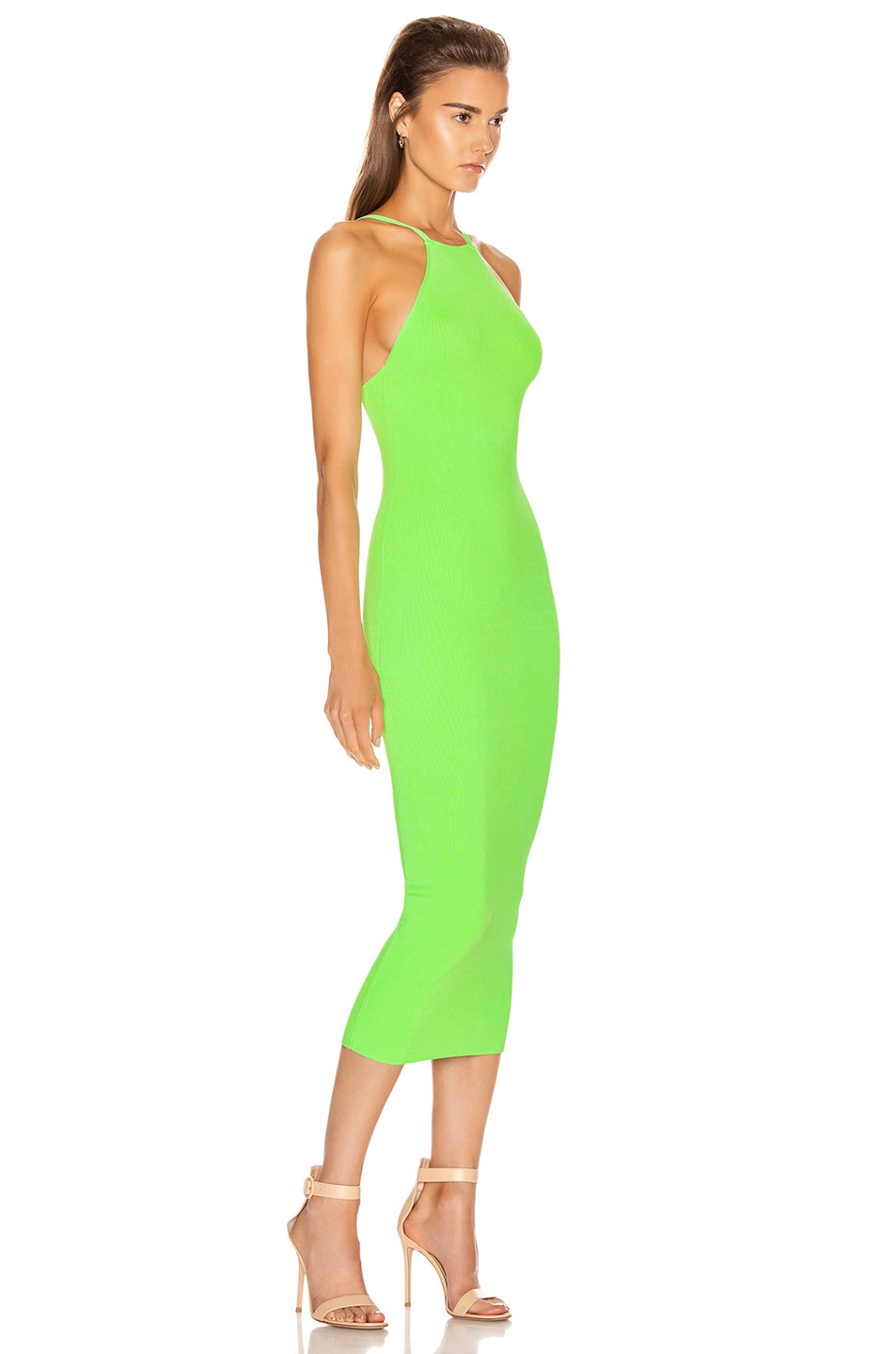 Image 2 of ALIX NYC Jay Dress in Electric Green