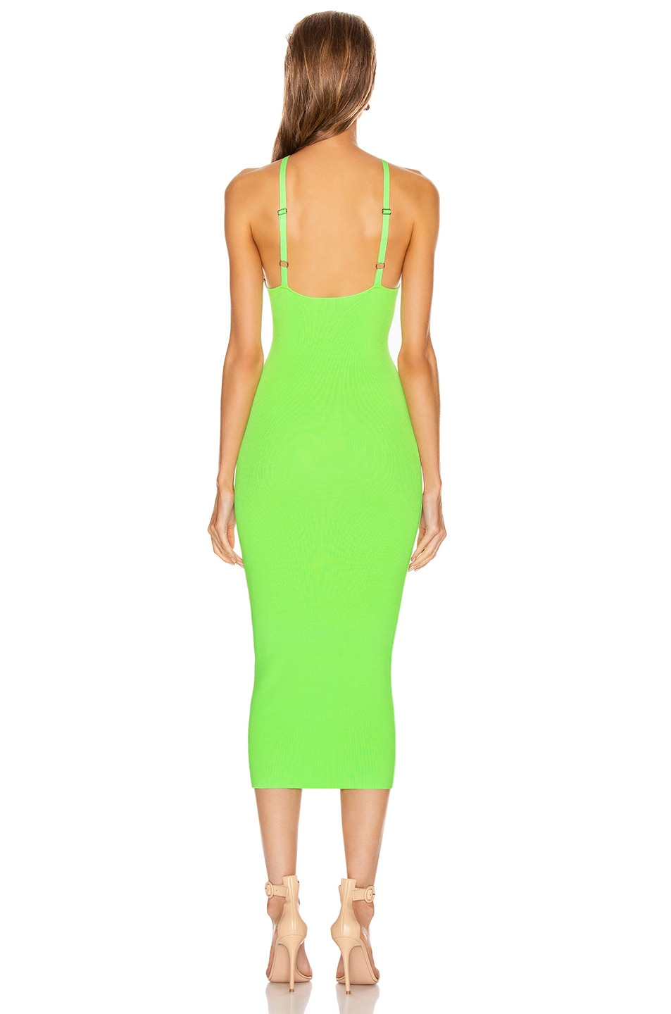 Image 3 of ALIX NYC Jay Dress in Electric Green