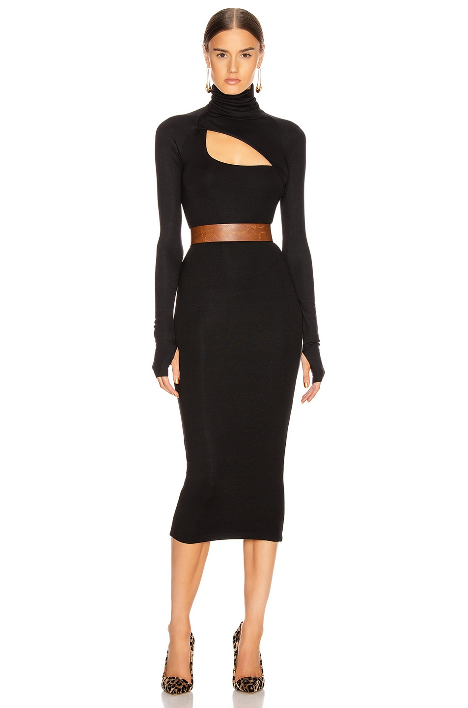 Image 1 of ALIX NYC Clarkson Dress in Black