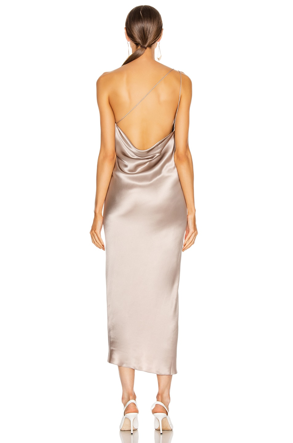Image 3 of ALIX NYC Quincy Dress in Dove