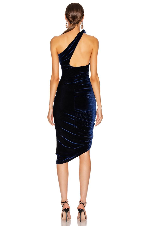 Image 4 of ALIX NYC Celeste Velvet Dress in Midnight