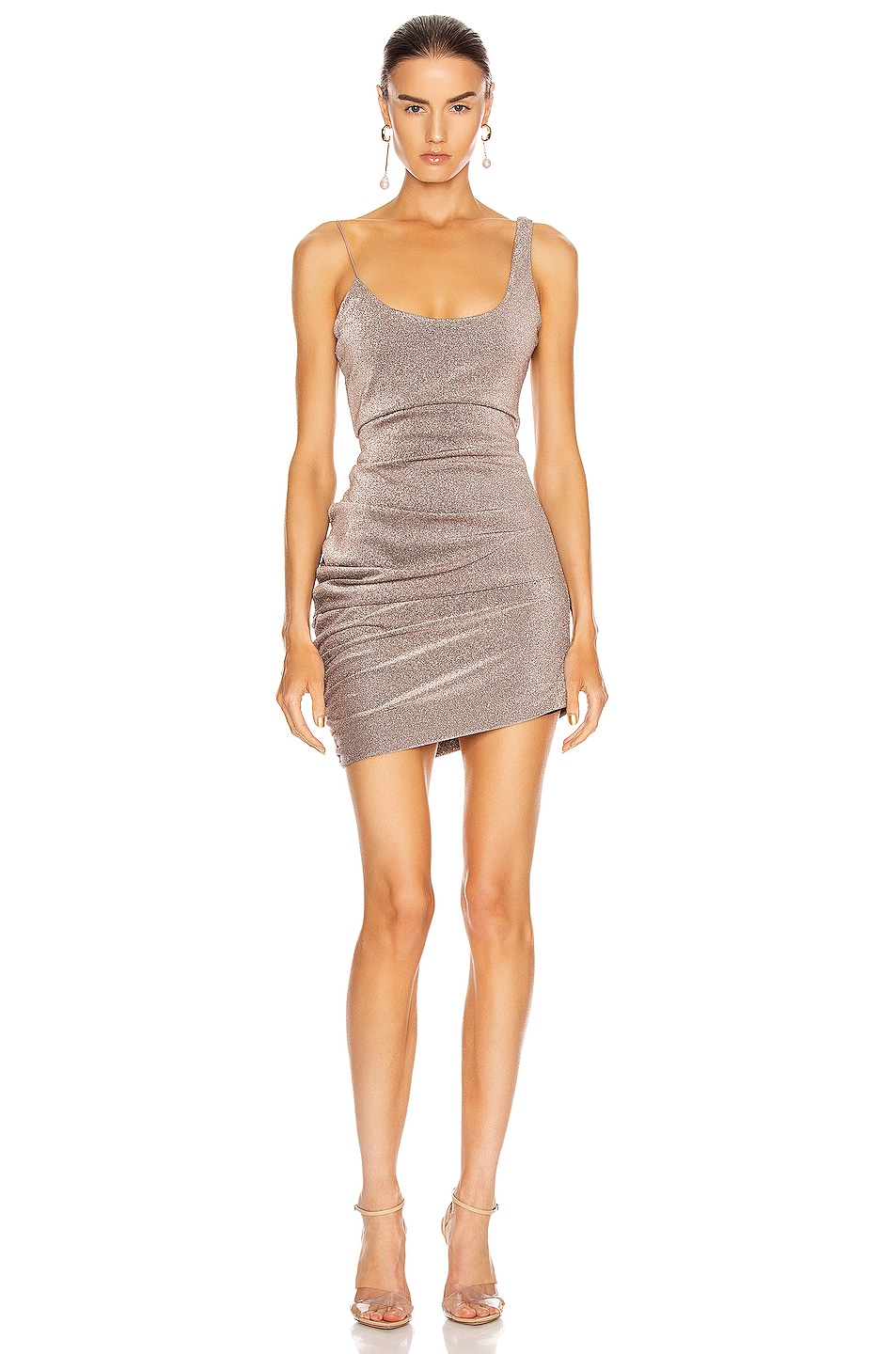 Image 1 of ALIX NYC Emmons Dress in Mercury Glitter