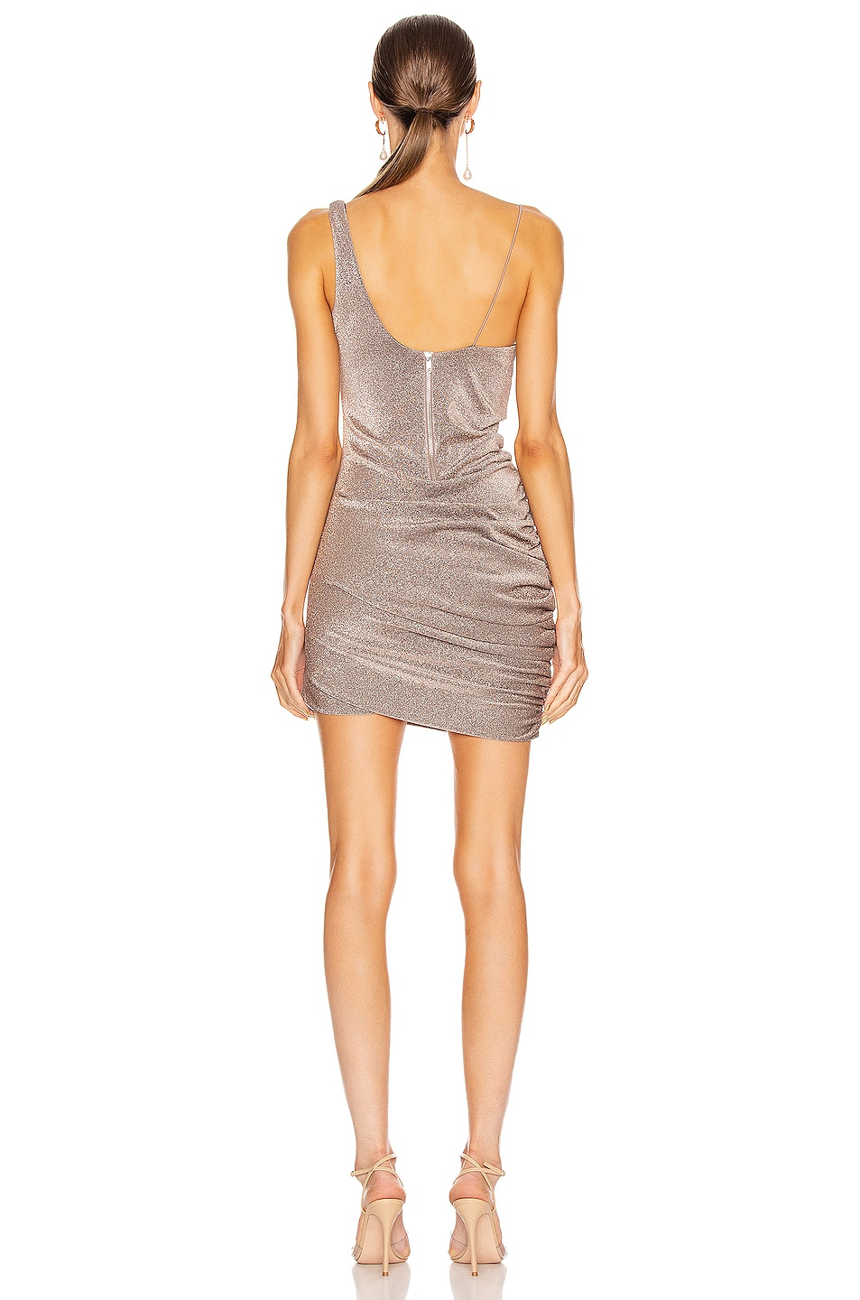 Image 4 of ALIX NYC Emmons Dress in Mercury Glitter