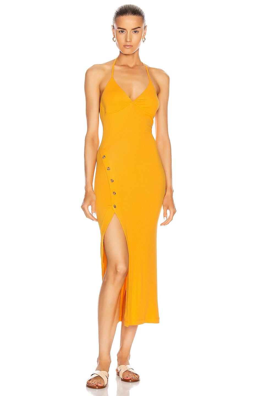 Image 1 of ALIX NYC Pierce Dress in Marigold