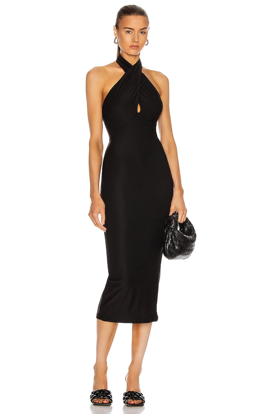 Image 1 of ALIX NYC Dahlia Dress in Black