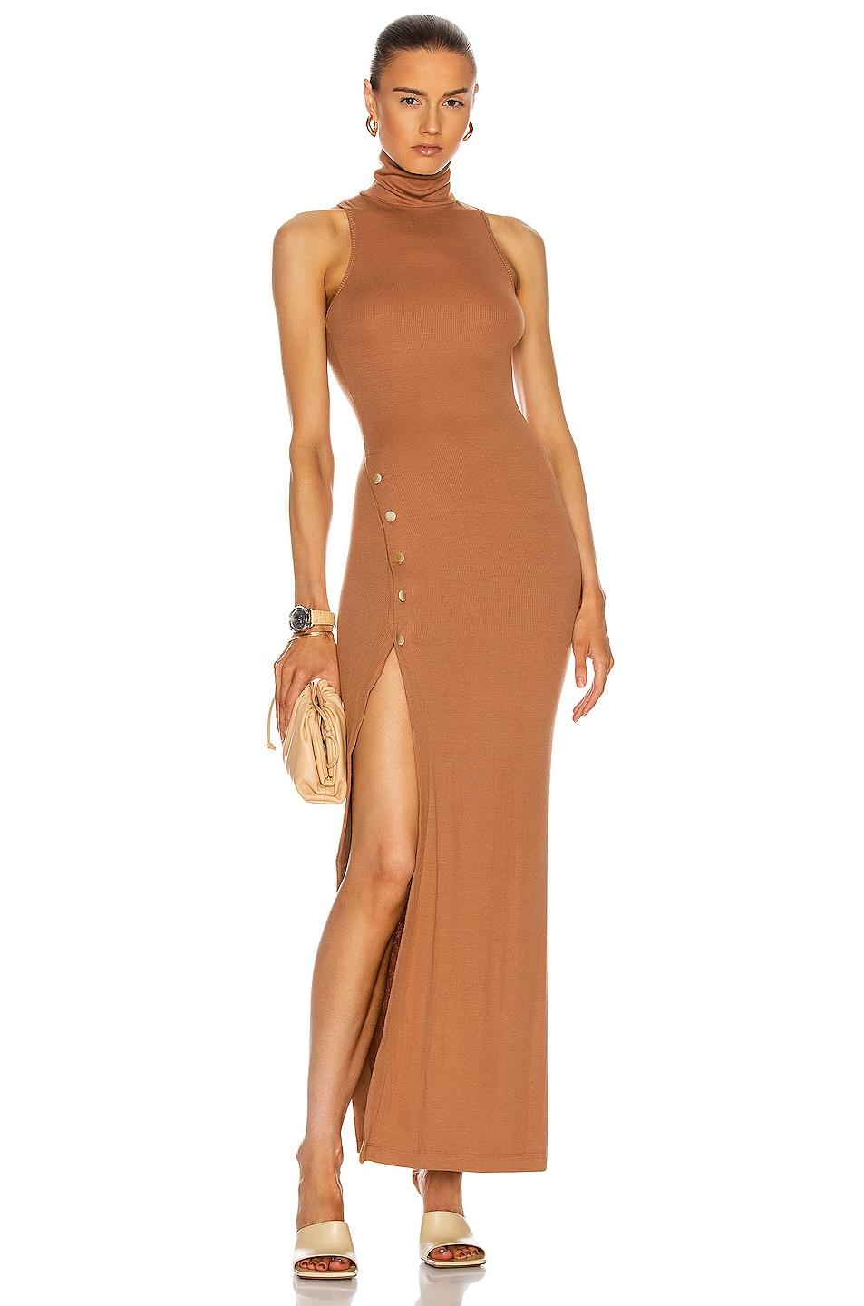 Image 1 of ALIX NYC Concord Dress in Cognac