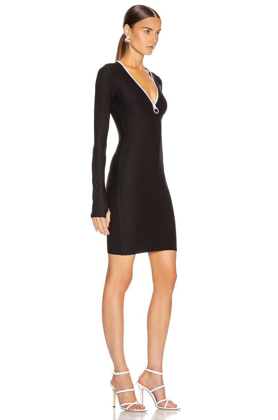 Image 2 of ALIX NYC Snyder Dress in Black